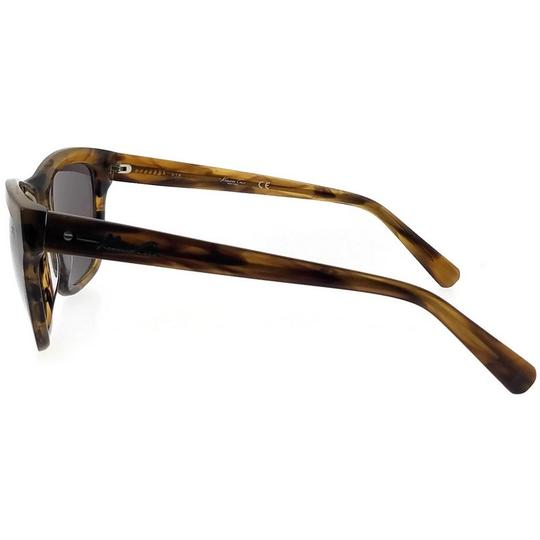 Kenneth Cole KC7201-62C-52 Square Women's Brown Frame Brown Lens Sunglasses NWT Image 3
