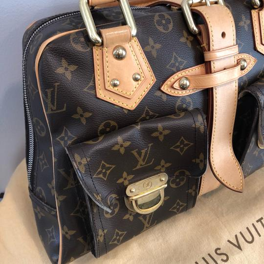 Louis Vuitton Vintage Monogram Leather Shoulder Bag Image 3