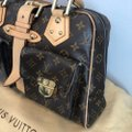 Louis Vuitton Vintage Monogram Leather Shoulder Bag Image 4