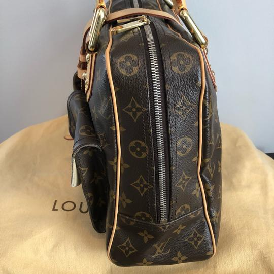 Louis Vuitton Vintage Monogram Leather Shoulder Bag Image 6