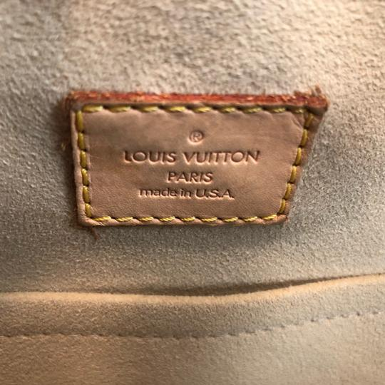 Louis Vuitton Vintage Monogram Leather Shoulder Bag Image 7