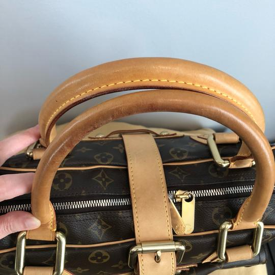 Louis Vuitton Vintage Monogram Leather Shoulder Bag Image 9