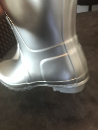 Hunter Silver Boots Image 7