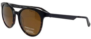 Kenneth Cole KC7226-52H-53 Women's Havana Frame Brown Lens Polarized Sunglasses