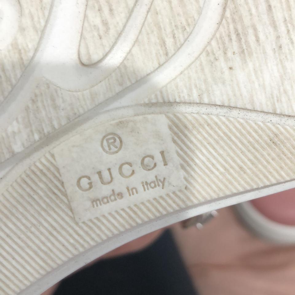 aff08bf367f Gucci Pink Canvas Sneakers Sneakers Size EU 38 (Approx. US 8 ...