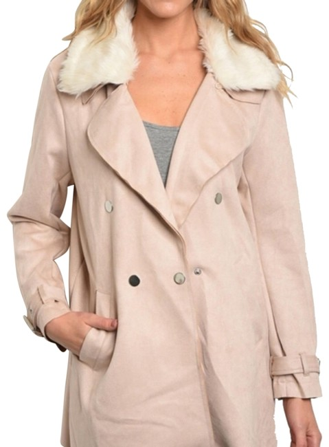 Item - Nude Blush Marie Coat Size 6 (S)