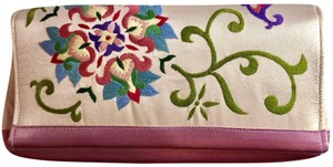 Unknown Satin Embroidery Bags Evening Bags Clutch