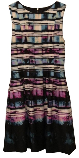 Item - Shades Of Multi Colors Vc6m2408 Mid-length Cocktail Dress Size 6 (S)