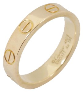 Cartier Cartier Love 18k Yellow Gold 3.4mm Band Ring Size EU 45