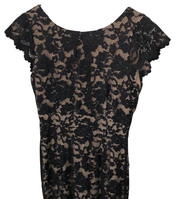 Item - Black Abs Mid-length Cocktail Dress Size 0 (XS)