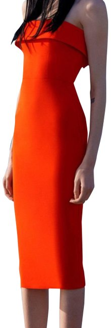 Preload https://img-static.tradesy.com/item/24590947/alex-perry-tangerine-audra-strapless-cuff-lady-mid-length-night-out-dress-size-4-s-0-1-650-650.jpg