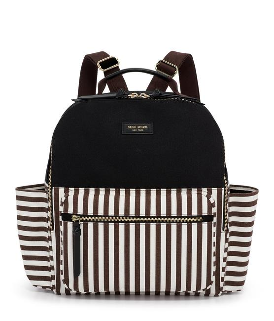 Item - Iconic Striped Large Multicolor Canvas Backpack
