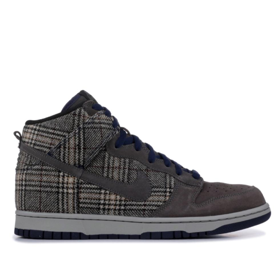 Dunk Regularm High Gray Us Pack Size Nike 6 Premium Sneakers Tweed vN80Omwn