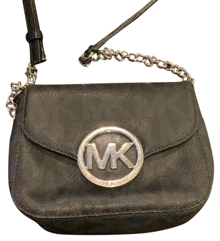 e6d341d91ffc Michael Kors Fulton Black Leather Cross Body Bag - Tradesy