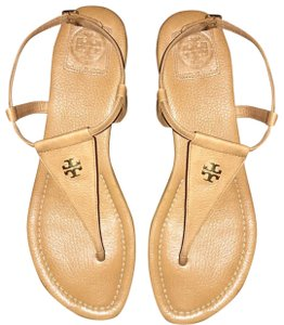 ba9e4856381d Beige Tory Burch Sandals - Up to 90% off at Tradesy