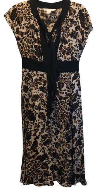 Preload https://img-static.tradesy.com/item/24591784/diane-von-furstenberg-black-cream-brown-stalina-mid-length-workoffice-dress-size-4-s-0-1-650-650.jpg