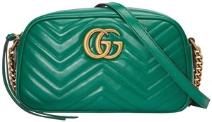 Gucci Quilted Gg Cross Body Bag