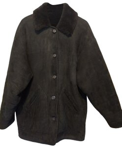 Burberry Shearling Suede Reversible Warm Fur Coat