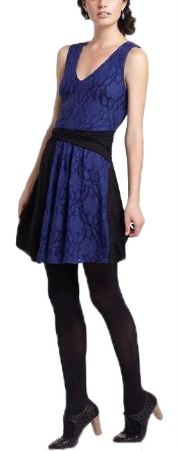 Preload https://img-static.tradesy.com/item/24592044/anthropologie-blue-and-black-colorblock-lace-mini-by-leifnotes-short-cocktail-dress-size-6-s-0-1-650-650.jpg