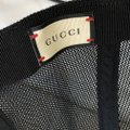 Gucci NEW Gucci Print leather baseball hat Vintage Logo Sz Large White Image 3