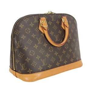 Louis Vuitton Alma Mm Purse Lv Tote in Brown