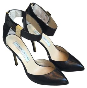 Kristin Cavalleri for Chinese Laundry Black Leather Pumps
