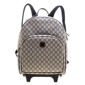 Gucci Nylon Canvas Backpack