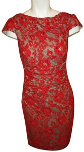 Kay Unger Lace Stretchy Mesh 001 Dress