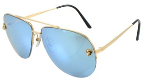 311415cccf5 Cartier Cartier Gold Panthere De Cartiér Sunglasses