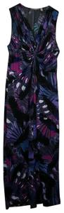 Purple Maxi Dress by NY Collection
