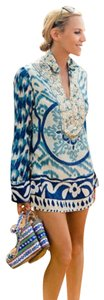 Tory Burch Iveta Embellished Beaded Tunic