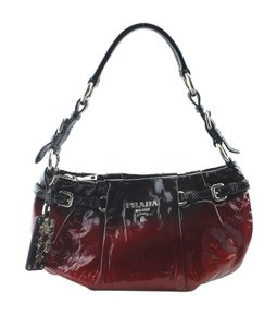 345ea5140dd8 Prada Ombre (161824) Red Patent Leather Shoulder Bag - Tradesy