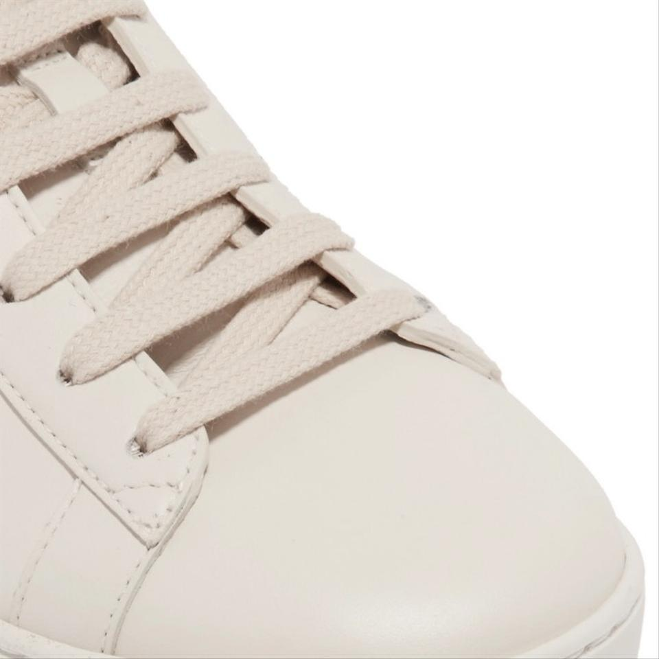 7a99596edd4 Gucci White Ace Metallic Watersnake-trimmed Logo-print Leather ...