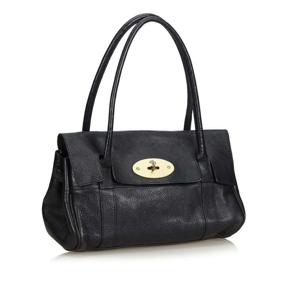 11d3e5565b62 Mulberry Black Leather Bayswater - Tradesy