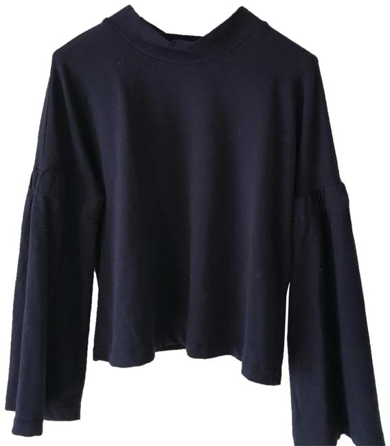 Preload https://img-static.tradesy.com/item/24594386/vince-camuto-two-by-brushed-jersey-navy-sweater-0-1-650-650.jpg