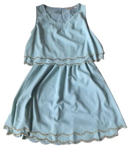 Altar'd State short dress mint green with gold on Tradesy
