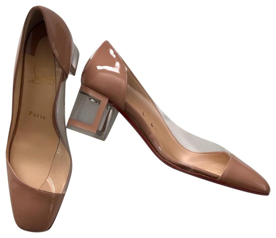 23d1002c068 Christian Louboutin Nude/Transparent Provisore Clear Pumps Size EU 37  (Approx. US 7) Regular (M, B) 39% off retail