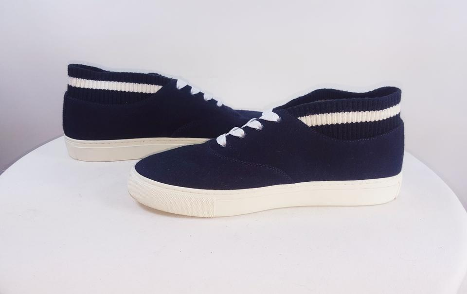 5ab45ab4ce4 Tory Sport by Tory Burch Blue All Love Sock Edge Sneakers Size US 10 ...