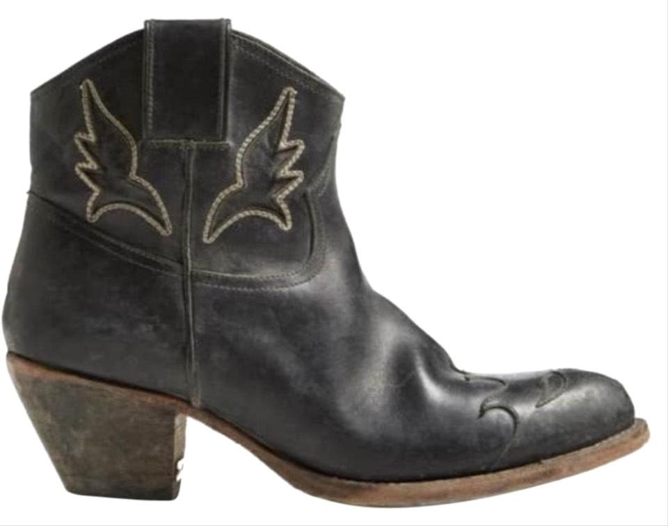 bf33eb5526c Golden Goose Deluxe Brand Black Sydney Western Boots/Booties Size US 7  Regular (M, B) 59% off retail