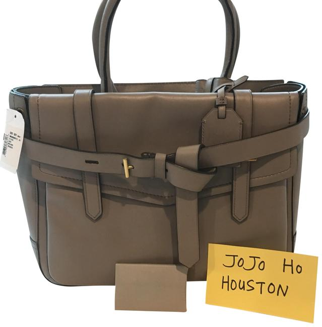Item - Box Tote Grey Leather Baguette