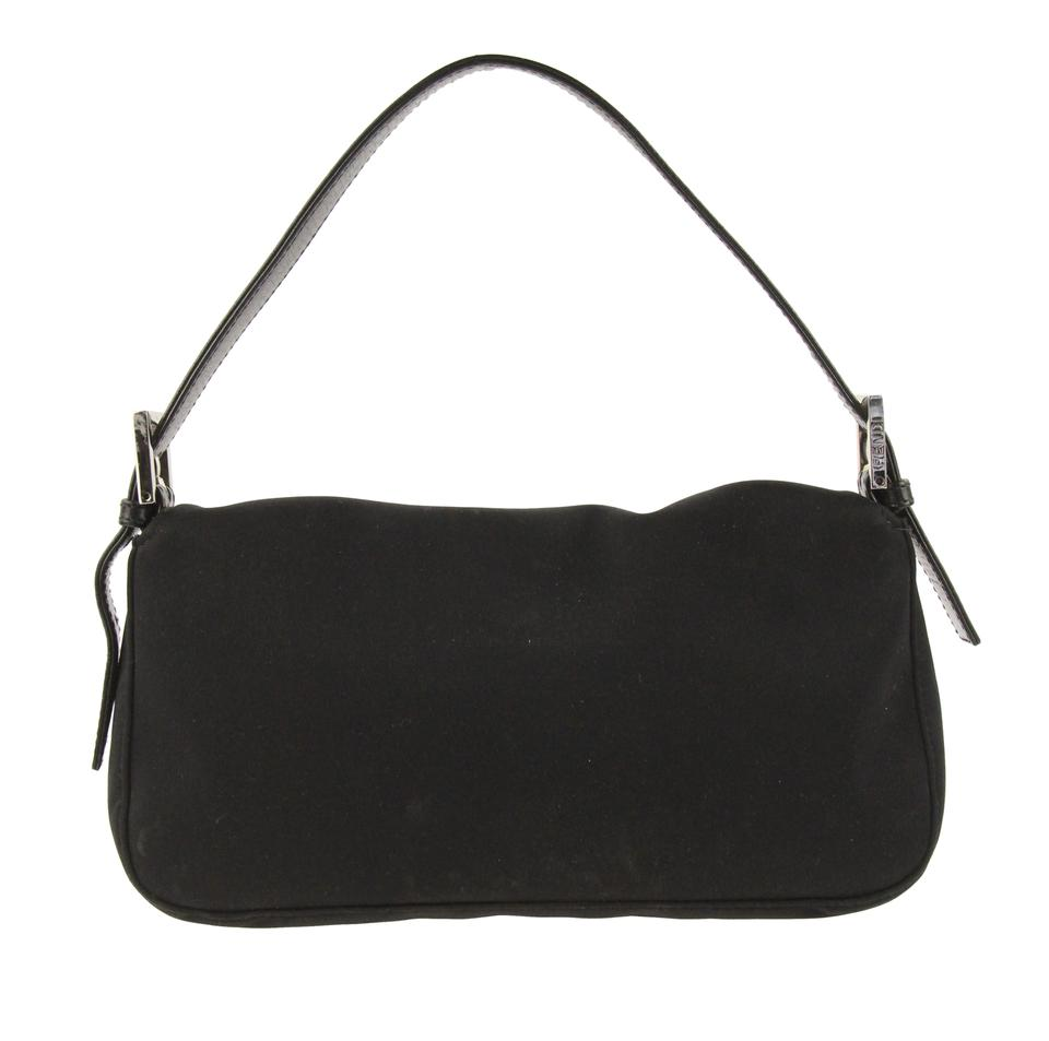 f307ce08 Mini Black Canvas Shoulder Bag