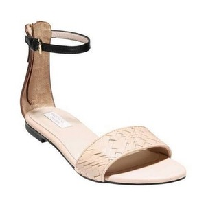 Cole Haan Weave Leather BEIGE & BROWN Sandals