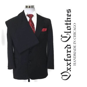 Gray Men's 2pc Suit Wool Made In Usa Tuxedo