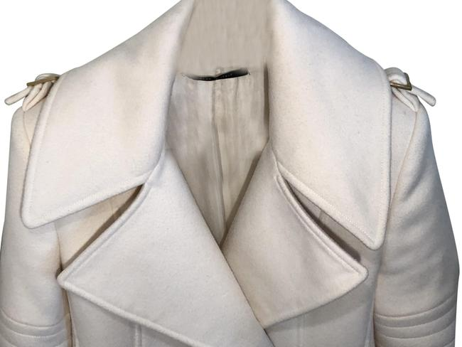 Item - Cream Tom Ford Wool and Cashmere Coat Size 2 (XS)