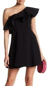 Nordstrom Open Shoulder Ruffle Formal A-line Party Dress