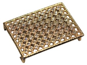 Other Gold tone and crystals belt buckle