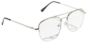 Urban Outfitters Silver Aviator Glasses