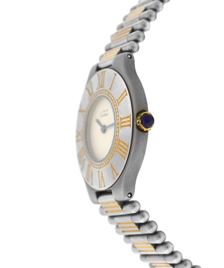 Cartier Ladies Cartier Must de Cartier 21 Stainless Steel Gold Bullet 31MM Image 1