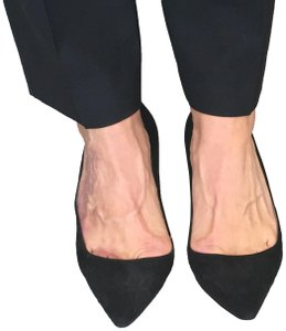 Manolo Blahnik Stiletto Suede Black Pumps