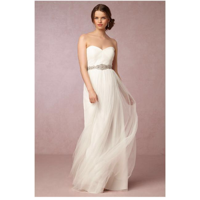 Item - Ivory Anabelle Convertible Tulle Gown Long Formal Dress Size 8 (M)